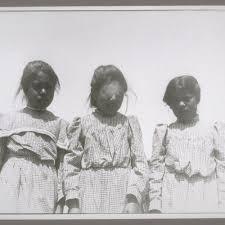 3 school girls: Bertha Smith (23), Dora Sanderson (52), Delia Matilden (41)  — Calisphere
