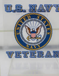 U S Navy Veteran With Navy Crest 3 75 X3 5 Decal Stars Stripes The Flag Store