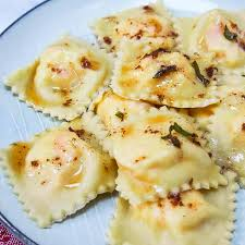 Lobster Ravioli with Sage Butter Sauce ...