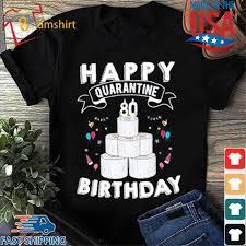65th birthday social distancing shirt