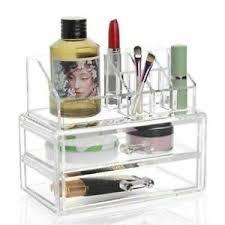 clear acrylic makeup organizer drawer