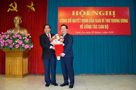 Nghệ An có Phó Bí thư Tỉnh ủy mới