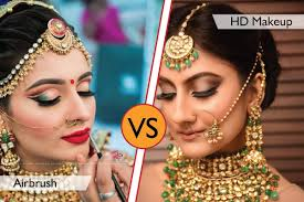 airbrush vs hd makeup pare with 100