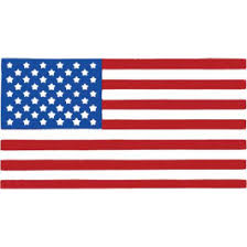 Ford Mercury United States Flag Window Decal 3 3 4 Wide X 2 High Wd Flag Macs Auto Parts