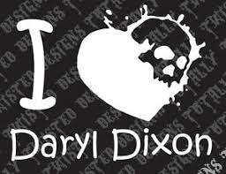 I Heart Daryl Dixon Walking Dead Vinyl Decal Car Truck Motorcycle Rick Grimes Ebay