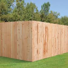 Outdoor Essentials 5 8 In X 6 In X 6 Ft Western Red Cedar Flat Top Fence Picket 16 Pack 240397 The Home Depot