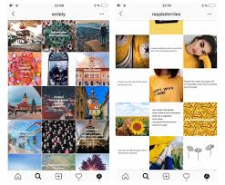 how to organize your instagram feed studio