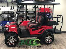 Conroe Golf Cars 2015 Lifted Club Car Precedent