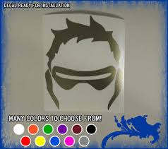 Overwatch Soldier 76 Vinyl Decal Wall Window Sticker Overig Huis Workbenchprojects Com