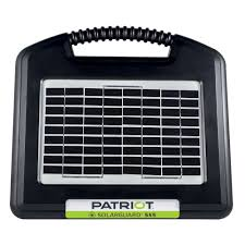 Patriot Electric Fencing Solarguard 555 Fence Energizer 12v Walmart Com Walmart Com