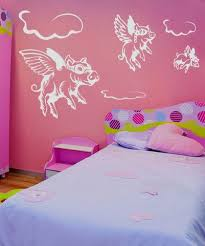 Vinyl Wall Decal Sticker Flying Pigs Gfoster130 Vinyl Wall Decals Wall Decal Sticker Wall Decals