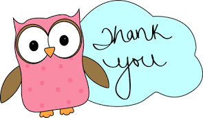 Image result for thank you owl