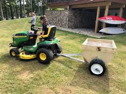 pull behind top dresser the lawn forum