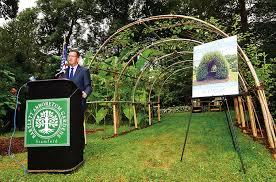 bartlett arboretum arch of 9 11
