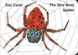Very Busy Spider: Amazon.co.uk: Eric Carle: 9780241135907: Books