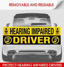 Hearing Impaired Driver Hope4myteen