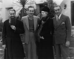 Lionel, Ethel & John Barrymore with Walt Disney on the set of Rasputin and  the Empress, Richard Boleslawski, … | Cine clasico, Cine y Famosos