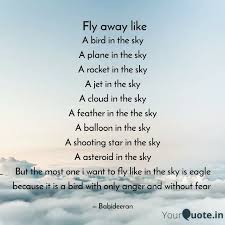 a bird in the sky a plane quotes writings by babi deeran