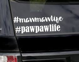 Pawpaw Decal Etsy