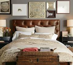 wall decor and headboard