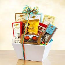 gift of sweet and snacks gift basket
