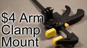 Diy 4 Arm Clamp Mount Gopro Tips And Tricks Youtube