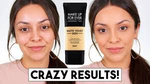 makeup forever matte velvet skin