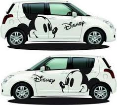Disney Mickey Mouse Car Body Stickers Car Decals Mickey Mouse Car Car Decals Car Stickers