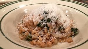 Lunchbreak: Farro risotto, prepared by mfk chef Jeremy Leven and ...