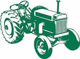 Farm Tractor Agriculture Vehicle Car Truck Window Laptop Vinyl Decal Sticker Ebay