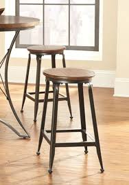 2 Steve Silver Adele Wood Counter Height Stools | The Classy Home