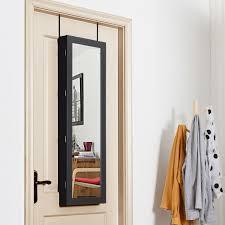 lockable wall door mounted mirror