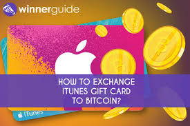 exchange itunes gift card to bitcoin