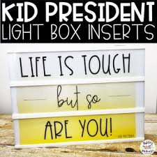 kid president light box inserts heidi swapp or leisure arts by