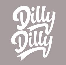 Amazon Com Dilly Dilly Vinyl Decal Sticker 75114 5 5 White Arts Crafts Sewing