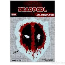 Deadpool Splanted Symbol Decal Deadpool Car Car Window Decals Deadpool Stickers