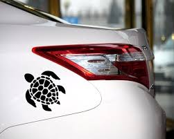 Sea Turtle Beach Hawaii Car Window Decal Truck Sticker Hft184e Wish