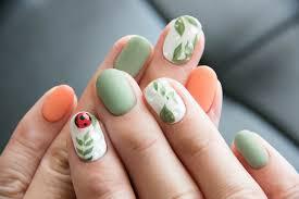 Wiosna Na Paznokciach Czyli 40 Propozycji Na Piekny Manicure