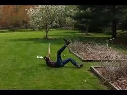 homemade zipline fail you