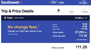 southwest airlines award deals to hawaii