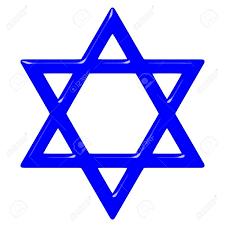 3d Star Of David. Symbol Of Jewish Identity And Judaism. Stock ...