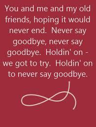 bon jovi never say goodbye song lyrics song quotes songs
