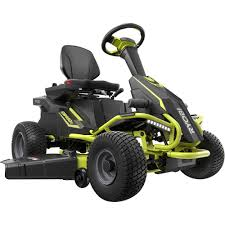 electric rear engine riding lawn mower