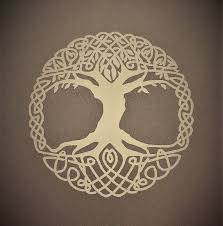 Celtic Tree Of Life 4 Vinyl Decal Etsy