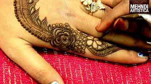 easy gulf mehndi design