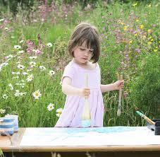 5 year old with autism paints stunning