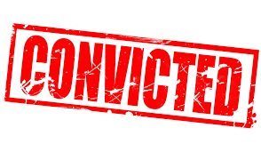 Image result for convicted
