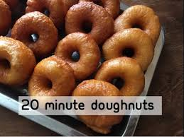 20 minute donuts no yeast
