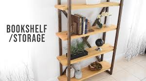 diy bookshelf storage organization