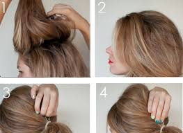 how to create a 1960s style ponytail